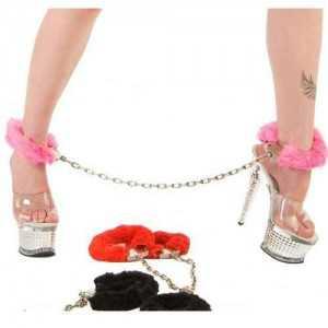 Furry Leg Cuffs Kürklü Ayak Kelepçeleri