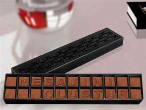 kişiye özel harfli sütlü çikolata