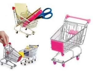 mini alışveriş arabası