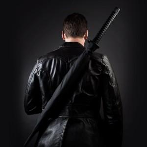 samuray kılıcı şemsiye