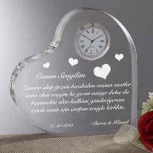Uzaktaki Sevgiliye Hediye Saat