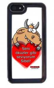 Erdil Yaşaroğlu Seni Öküzler Gibi Seviyorum Iphone Kılıfı