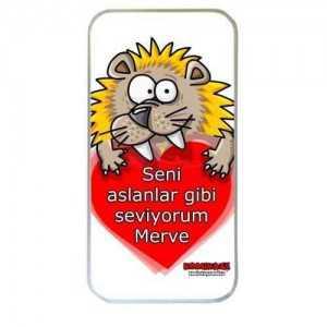 Seni Aslanlar Gibi Seviyorum Iphone Kılıfı