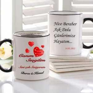kişiye özel isim ve mesajlı sihirli kupa