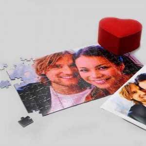 En romantik hediye - resimli puzzle