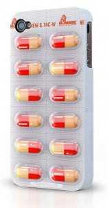 Iphone 4 ilaç kutusu kılıf