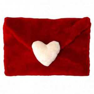 kalpli peluş zarf