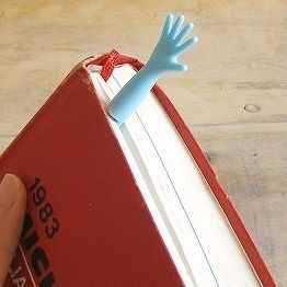el şeklinde kitap ayracı