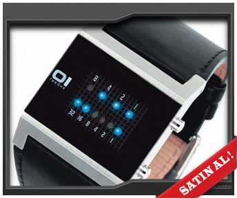 sevgiliye kol saati binary saat