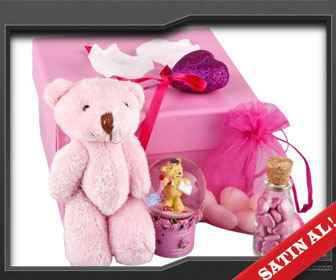 romantik sevgiliye hediye kutusu
