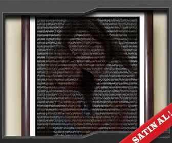 sevgiliye hediye textposter