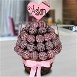 Sevgiliye Hediye Pinkdarling Çikolata