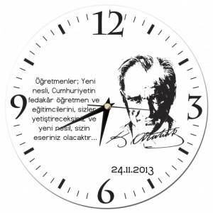 Atatürk Duvar Saati
