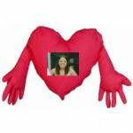 Kişiye Özel Aşkın Kalp Yastık