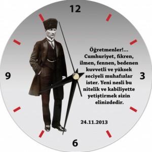 Mustafa Kemal Atatürk Duvar Saati