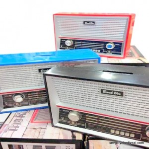 Radyo Şeklinde Kumbara