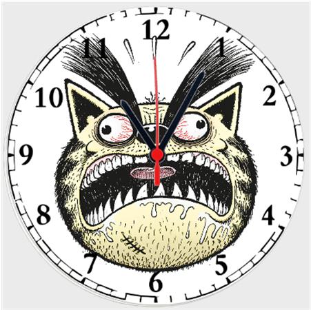 Kötü Kedi Şero Duvar Saatleri